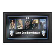 Stone Cold Steve Austin Evolution of a Hall of Famer Plaque