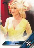 2016 WWE (Topps) Then, Now, Forever Renee Young 136