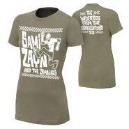 Sami Zayn Underdog From The Underground Women's Authentic T-Shirt