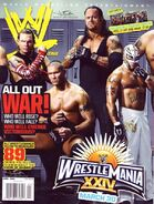 WWE Magazine April 2008 Issue