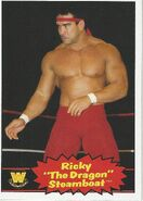 2012 WWE Heritage Trading Cards Ricky Steamboat 99