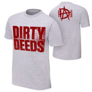 Dean Ambrose Dirty Deeds Authentic T-Shirt