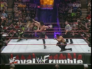 Royal Rumble 2000 Bradshaw Clothesline