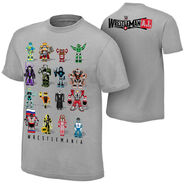 WrestleMania 31 Robots T-Shirt