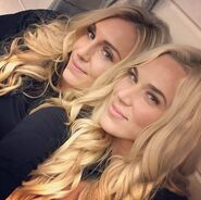 Charlotte and Lana
