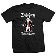 Zack Sabre, Jr. Technical Wizard Shirt