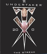 Undertaker 20-0 The Streak DVD cover