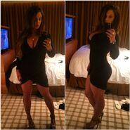Kaitlyn Black Dress 2