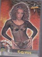 1999 WCW Embossed (Topps) Tygress 65
