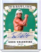2016 Leaf Signature Series Wrestling Greg Valentine 29