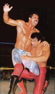 Rick rude at steamboat's mercy