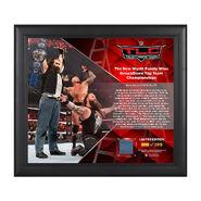 Bray Wyatt TLC 2016 15 x 17 Framed Plaque w Ring Canvas