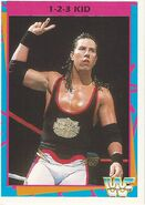 1995 WWF Wrestling Trading Cards (Merlin) 1-2-3 Kid 132