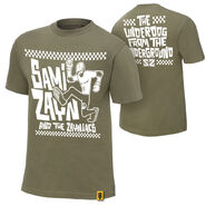 Sami Zayn Underdog From The Underground Authentic T-Shirt