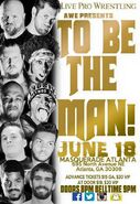 AWE To Be The Man poster