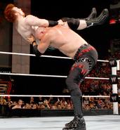 Kane chokeslam sheamus