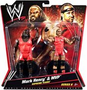 WWE Battle Packs 6 MVP & Mark Henry