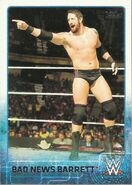 2015 WWE (Topps) Bad News Barrett 5