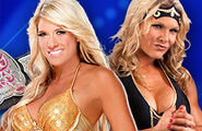 Match Divas Champion Kelly Kelly vs. Beth Phoenix (Title Match)