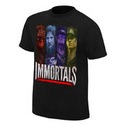 WWE Immortals Beyond The Ring Official T-Shirt