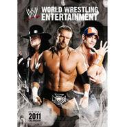 WWE Calendar, World Wrestling Calendar 2011 official calendar