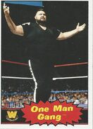 2012 WWE Heritage Trading Cards One Man Gang 95