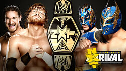 Takeover 4 Tag Team Title Match