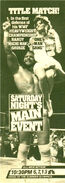 Saturday Night's Main Event XVI Ad