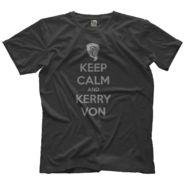 Kerry Von Erich Keep Calm T-Shirt