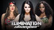 Elimination Chamber - Divas Championship Triple Threat