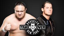 NXT Takeover VI - Samoa Joe v Baron Corbin