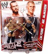 WWE Battle Packs 23 CM Punk & Vince McMahon