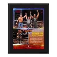 Dean Ambrose & Roman Reigns SummerSlam 2015 10.5 x 13 Photo Collage Plaque