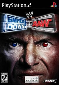 WWE SmackDown! vs. RAWのカバーアート