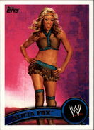 2011 WWE (Topps) Alicia Fox 46