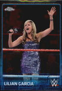 2015 Chrome WWE Wrestling Cards (Topps) Lilian Garcia 44