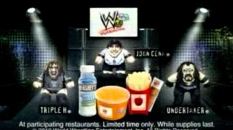 Burger King WWE spot