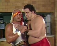 Andre the Giant & Hulk Hogan