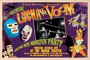 Lucha VaVoom Poster 7