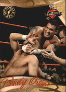 2004 WWE Divas 2005 (Fleer) Randy Orton 78