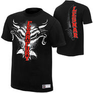 Brock Lesnar Fear The Fury Authentic T-Shirt