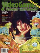 Video Games & Computer Entertainment - November 1990