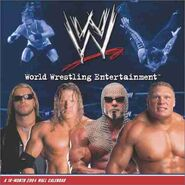 WWE 2004 Calendar by Trends International