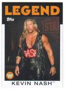 2016 WWE Heritage Wrestling Cards (Topps) Kevin Nash 87