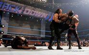 Undertaker and kane chookeslam big daddy v