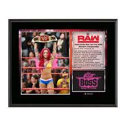 Sasha Banks WWE Women's Championship 10 X 13 Commemorative Photo Plaque