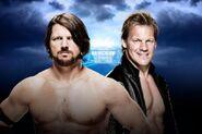 WM 32 AJ Styles v Chris Jericho