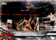 2017 WWE Road to WrestleMania Trading Cards (Topps) Roman Reigns 83
