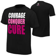 WWE Courage Conquer Cure T-Shirt