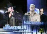 The Undertaker vs Heidenreich